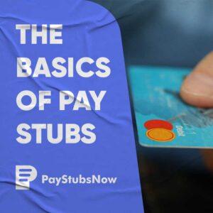 basics pay stubs