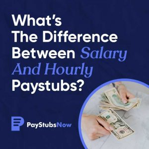 difference salary hourly