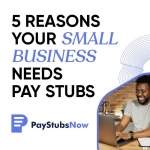 small business pay stubs