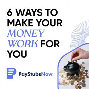 money work for you
