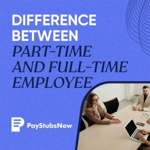 part time - full time employee