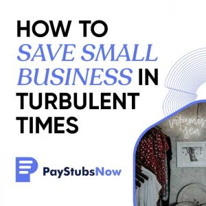 small business turbulent times