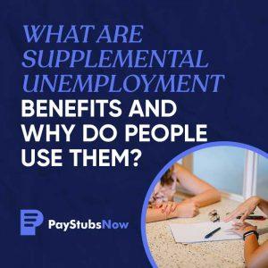 supplemental unemployment benefits