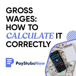 Gross Wages