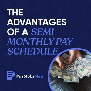 Semi monthly pay schedule