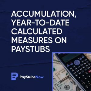 Year to date paystubs