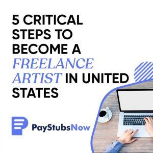 become freelance artist