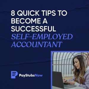 become self employed accountant