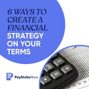 financial strategy on your terms