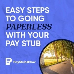 paperless pay stubs