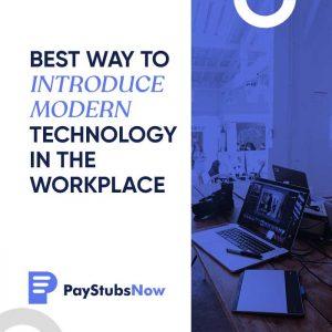 workplace modern technology