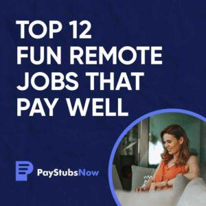 Fun Jobs