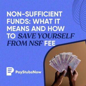 NSF fee
