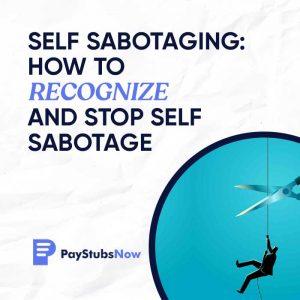 Self Sabotaging