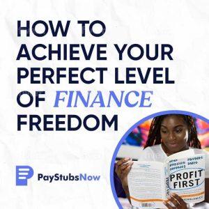 Finance Freedom