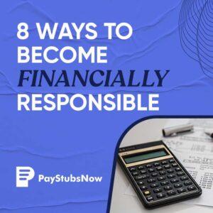 Financially Responsible