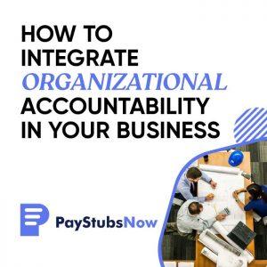 Organizational Accountability