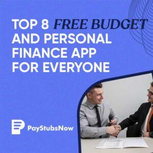 free budget app