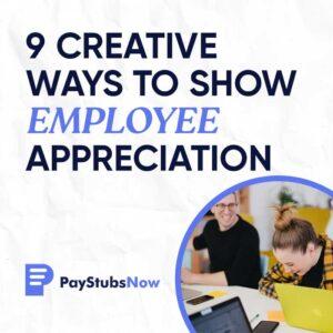 creative Employee Appreciation