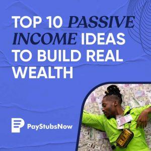 passive income