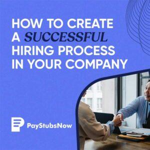 successful hiring process